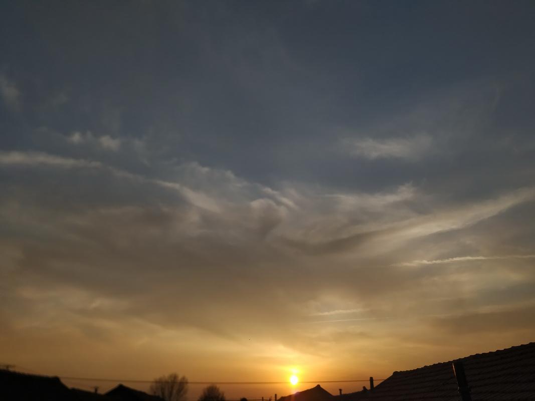 日落.余晖