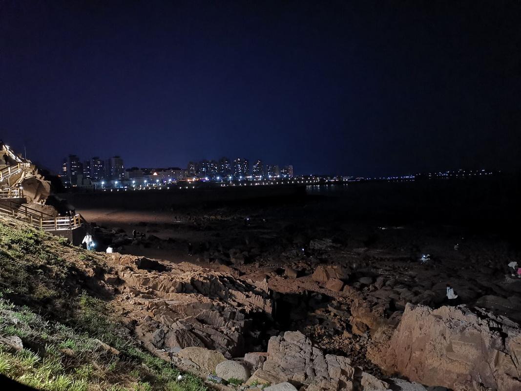 燕儿岛夜色