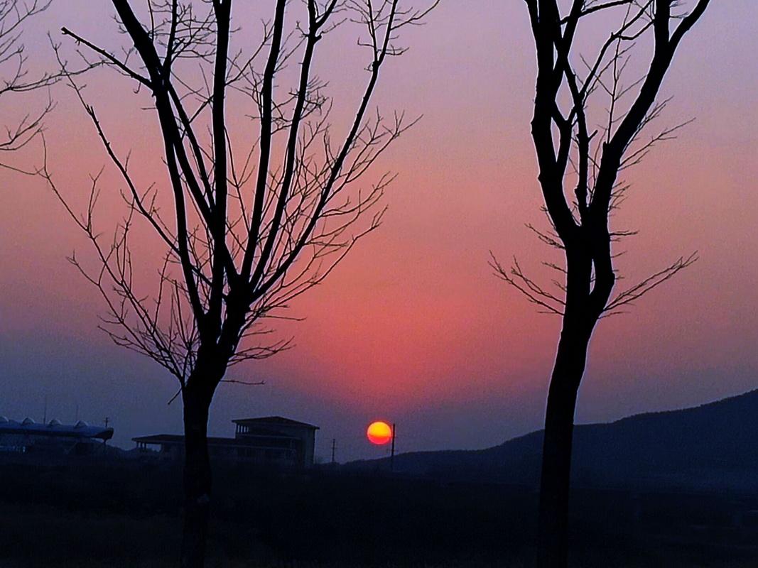 海贝广场看夕阳