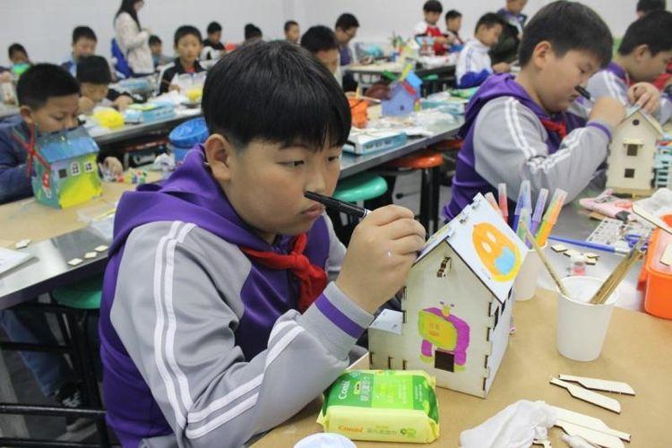 2019年青岛市青少年建筑模型竞赛掠影