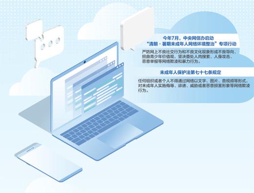 对网络欺凌坚决说不(清朗未成年人网络环境③)